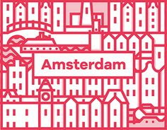 Echa un vistazo a este proyecto @Behance: \u201cIcons of Amsterdam\u201d https://www.behance.net/gallery/27298667/Icons-of-Amsterdam