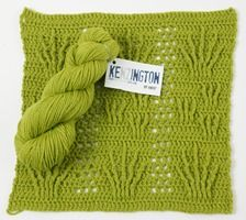 KeNZington by HiKoo by Skacel - #Yarn review and FREE block #crochet pattern from Love of Crochet magazine