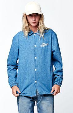 Bennet Denim Coaches Jacket