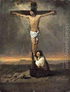 Domenico Morelli - Crocefissione