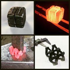Geometric art! Dal semplice al complesso... #bottegaDonatelli #pescocostanzo #iron #ferrobattuto #fattoamano #madeinitaly #madeinAbruzzo #abruzzo #art #geometric #arte #tradizione #wroughtiron #handmade #design #italy #passion #artigianato #creatività #imagination #form