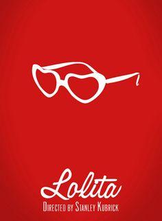 Poster for Stanley Kubrick's Lolita. #design