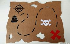 Pirate Day, Pirate Birthday, Pirate Theme, Easy Crafts For Kids, Summer Crafts, Pirate Party Games, Homemade Pirate Costumes, Party Food Labels, Pirate Crafts
