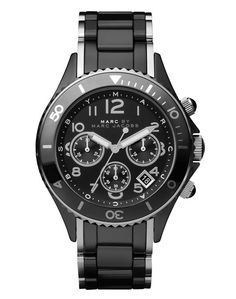 Marc by Marc Jacobs Limited Edition Ceramic Rock Chrono Watch