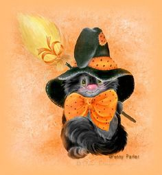 penny parker | ... Graphic Designs~Linkware~Penny Parker~Holidays~Halloween~Halloween Cat
