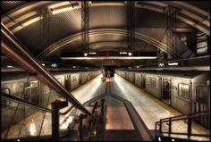 Downsview Subway Station, Toronto, Ontario, Canada