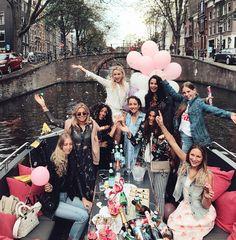 girl gang abroad