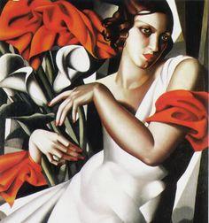 Autor: Tamara de Lempicka Estilo: Art Deco Título original: Portrait of Ira P. Tipo: Cuadro Técnica: Óleo Soporte: Lienzo Año: 1930