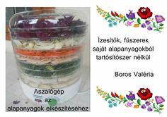 Boros Valéria otthon elkészíthető fűszerei