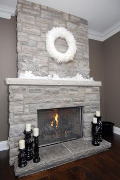 #fireplace #mantle