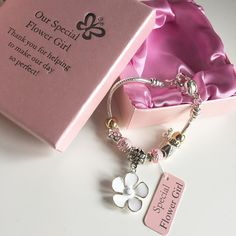 Our gorgeous silver-plated charm and sparkle bracelets are a perfect gift for a special flower girl  12.50  FREE delivery too.  http://ift.tt/1PXzQIB  #wedding #flowergirl #engaged #present #gift  #wedding #brides #weddinginspiration #weddingday #guestbook #lace #ribbon #diy #vintage #classic #shabbychic #bespoke #unique #individual #crafty #craft #love #personalised #engaged #gettingmarried #newlyengaged