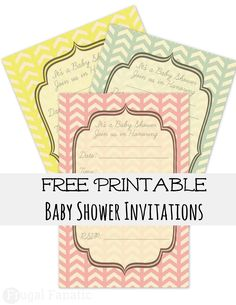 Free Baby Shower Invites - Frugal Fanatic