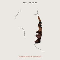 Cover design for 'Somewhere in Between' by Braxton Cook