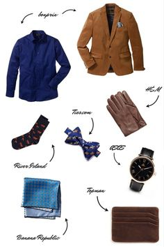 Fashion gifts for men on A Handful of Stories.