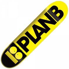 Plan B Yellow Skateboards
