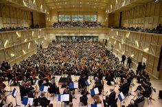 Rosey concert hall - Recherche Google Concert Hall, Basketball Court, Google