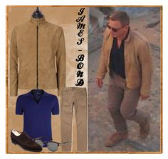 Create a bold statement while wearing the Mens Tan Color Front Suede Style Leather Jacket. Order our Men brown jacket today to be the showstopper! James Bond Outfits, James Bond Suit, Bond Suits, James Bond Style, Daniel Craig Style, Daniel Craig James Bond, Craig 007, Mens Leather Coats, Leather Jacket