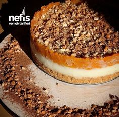 Balkabaklı Pasta Catering, Pudding Cake, Gluten Free Recipes, Sweet Recipes, Yummy Recipes, Recipies, Deserts, Food And Drink, Pumpkin