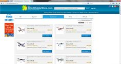 Find all offers across e-stores on a single click