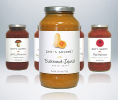 Butternut Squash is our number one selling pasta sauce. Surprised? Perfect with pasta but also makes a great base for other dishes like lasagna.