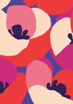 pattern by Minakani for DPAM #minakani #dpam #peony #pattern #flowers
