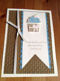 Stampin' Up! Create a Cupcake stamp set and punch