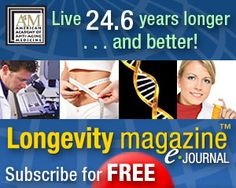 100% FREE Longevity Magazine e-Journal Signup