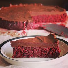 beetroot-chocolate raw cake by befresh.sk