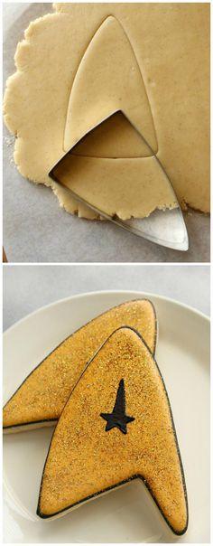 Star Fleet Insignia Cookies
