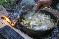 Get back to your roots, head out to your favorite camping spot, and break out that old dutch oven. Make an age old traditional Russian dish and add your own personal touch.