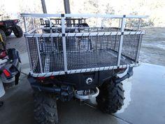 Utv Dog Box Hunting Rig Hunting Dog Box Deerskin Mfg