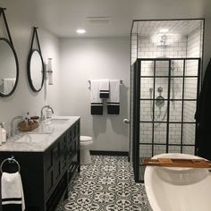 If you are looking for Striking Master Bathroom Remodel Ideas, You come to the right place. Below are the Striking Master Bathroom Remodel Ideas. Bathroom Layout, Modern Bathroom Design, Bathroom Interior Design, Bathroom Mirrors, Master Bathrooms, Paint Bathroom, Bathroom Designs, Shower Bathroom, Bathroom Trends