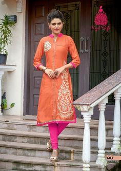 Beautiful Kurti in butterfly collection