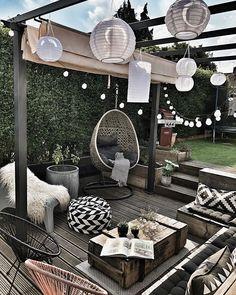 patio ideas on a budget ; patio ideas on a budget backyard ; patio ideas on a budget diy ; patio ideas on a budget pavers Backyard Patio Designs, Pergola Patio, Diy Patio, Pergola Kits, Small Backyard Landscaping, Pergola Plans, Backyard Ideas, Desert Backyard, Backyard Hammock