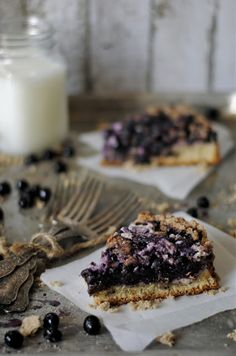 "Blueberry Cream Cheese Coffee Cake ~ via this blog, ""How To: Simplify""."