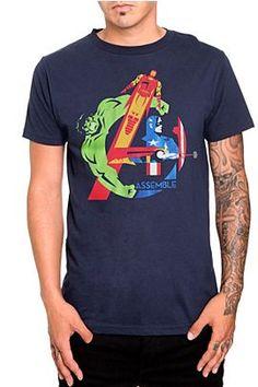 Marvel Universe The Avengers Assemble T-Shirt