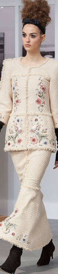 ~ Chanel Fall Couture 2016 ~ | LOLO | lookandlovewithlolo.blogspot.com