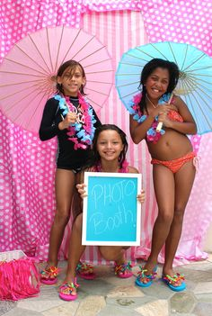 """Photo 11 of 55: Summer Pool Party / Summer """"Flamingo Retro Pool Party""""   Catch My Party"""