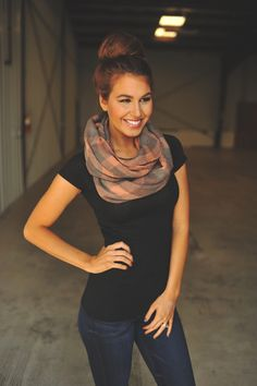 Dottie Couture Boutique - Flannel Infinity- Pink/Grey, $18.00 (http://www.dottiecouture.com/flannel-infinity-pink-grey/)