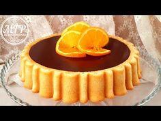 Tarta de naranja y chocolate | Mi tarta preferida - YouTube Cookie Pie, Fika, Jello, Cheesecakes, Yams, Mousse, Pudding, Favorite Recipes, Sweet