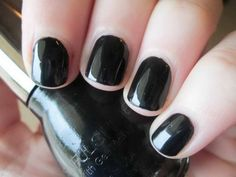 unghie nere corte - Cerca con Google
