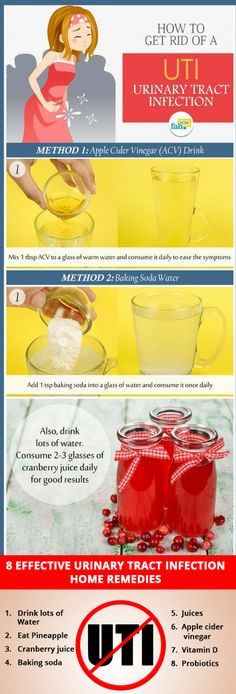 How to get rid of Urinary tract infection. Get Rid Of Uti, How To Get Rid, Urinary Tract Infection Treatment, Not Drinking Enough Water, Baking Soda Water, No Sugar Diet, Carbonated Drinks, Cranberry Juice, Natural Solutions