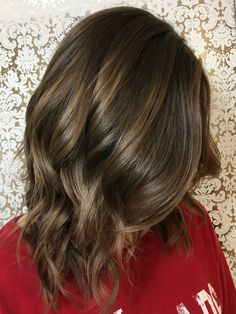 Mocha balayage perfect hair for the fall and winter