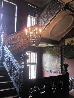 Jacobean Stairway, Ham House by John of Witney, via Flickr