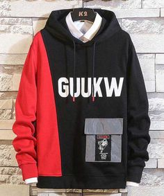 Coffee yellow pattern & letter print pull over hoodies Men's black red pattern & letter print pull over hoodies 01 Stylish Hoodies, T Shirt Diy, T Shirts With Sayings, Casual Shirts For Men, Boys Shirts, Cool Outfits, Sweatshirts, Yellow Pattern, Sweater