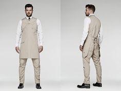 RAW Utility - men carousel image 11 Cafe Uniform, Waiter Uniform, Uniform Shop, Hotel Uniform, Gift Shop Interiors, Viking Cosplay, Uniform Clothes, Barber Apron, Aprons For Men