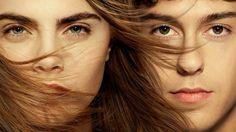 Paper Towns movie poster featuring  Nat Wolff and Cara Delevingne