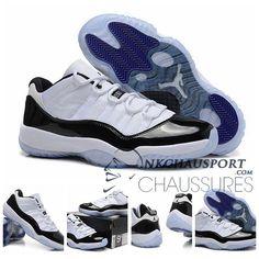 Nike Air Jordan 11 | Classique Chaussure De Basket Homme Cuir Blanche-1