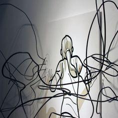 "Manuel Galdón Artwork - ""the artist back to school"" proyect, of Centro 14 (2013, Alicante)."
