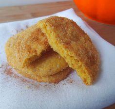 Pumpkin Snickerdoodle Cookies - From Vegan Heartland